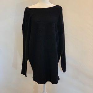 Vince Camuto Black Sweater Tunic